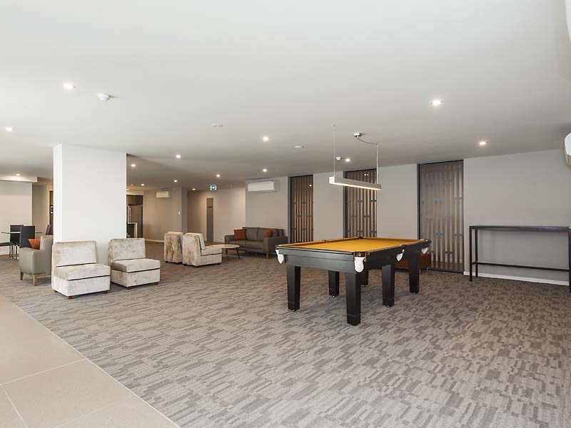 Residents Lounge with Pool Table