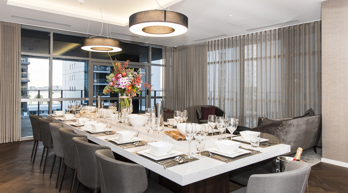 Concerto private dining room